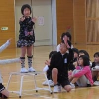 1年生と楽しむ会が行われました。