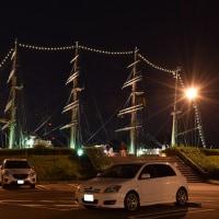日本丸、宇品港に停泊、、、