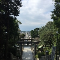 宮地嶽神社へ
