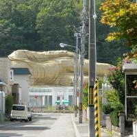 北海道 旧恵山町の寝大仏