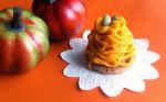 アガベでかぼちゃのモンブラン