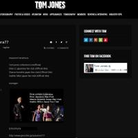 Tom Jones japan fan club 11th anniversary