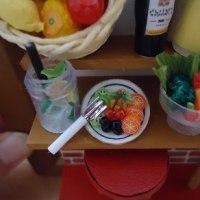 フェリシモのミニチュアフレーム キッチンバー