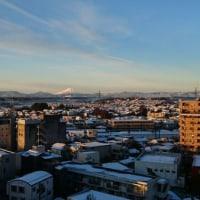 降雪の翌朝