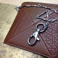 財布にチェーンを付ける!