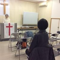 新会堂での初めての礼拝です*\(^o ^)/*