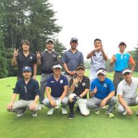 会長報告。四究会メンバーで神戸に一泊二日のゴルフ遠征に行って来ました!