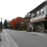 軽井沢のいろいろ 紅葉の追分宿にクラシックの名曲が・・・ ♪