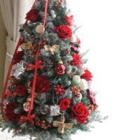 ♪クリスマスツリー(レッドローズ)♪