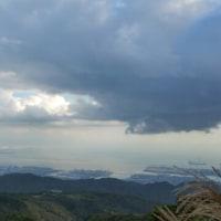 今日の六甲山、明石