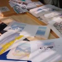 木版画作家塩入久先生アトリエをたづねて~!