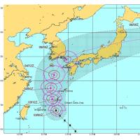 台風18号※外出危険※