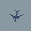 2017年7月22日,上空を飛ぶ 飛行機