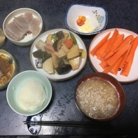 四日目の朝昼晩飯