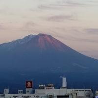 夕方の大山 12月2日