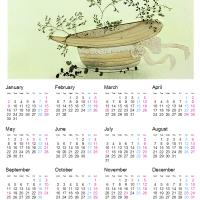 カレンダー台紙 1