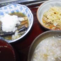 今日の娘飯 出たっ!!朝ご飯みたいな夜ご飯!!