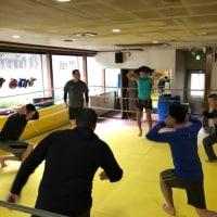 12/7下川原靖也コーチの水曜朝フィットネスクラス練習日記