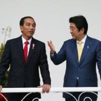 安倍首相 4カ国歴訪 in インドネシア