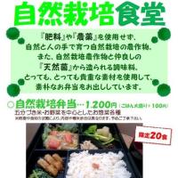 自然栽培食堂:4月22日(土)♪