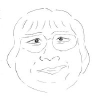 12月2日のチョコット似顔絵