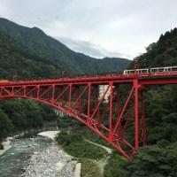 トロッコ列車(宇奈月温泉)