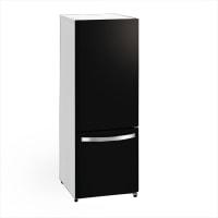 キッチンをお洒落な空間にしてくれる黒の冷蔵庫!