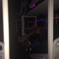 苛酷な長距離バス