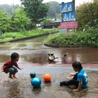ちいくれん定例会。子ども夢パーク。雨でも関係ない!