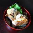 焼き鯖のっけの玄米寿司