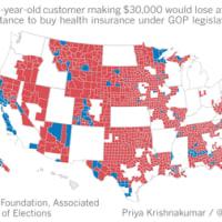共和党の保険制度改革案:ルーザーは誰?