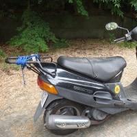 ブレーキ故障多発のバイクを修理