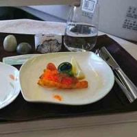 美女CAが特徴のエバー航空のビジネスクラス体験記