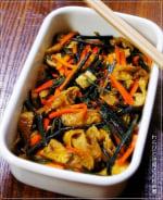 春の常備菜~わらびと油揚げの炒め煮~