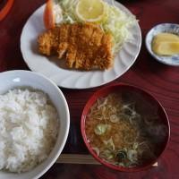 旧北上町の『栄屋食堂』さんで昼食(その2)
