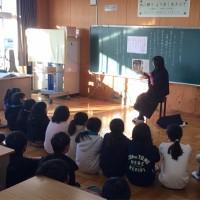 本日の読み聞かせ(1月11日) 5年4組