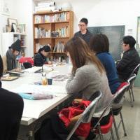 2017年2月18日(土)デッサン基礎クラス・タケウマ先生の授業内容