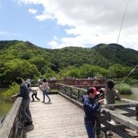 曽根沼 釣り大会