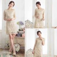 今注目されているドレスのキーワードは透明感があり輝くドレス