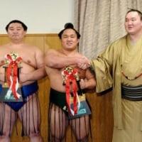 新入幕の石浦、約束果たす敢闘賞 地元鳥取に「少しは恩返しができたかな」とのニュースっす。