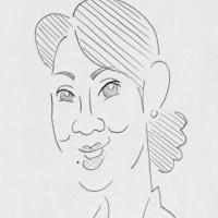 「鉛筆画」バナナマン、吉永小百合、カルロス・ゴーン(似顔絵)
