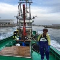 オホーツクの海  秋アジ漁 2