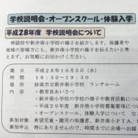 新井南小学校の小規模特認校制度について