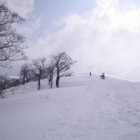 脳梗塞者の山スキー復帰練習(氷ノ山△1509.77m)