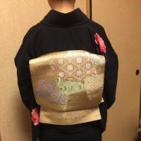 29.3.16の出張着付3件目・4件目は松原市と堺市東区、袴と訪問着の着付&ヘアセットでした。