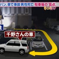 千野志麻さん(元フジテレビアナウンサー)、38歳の男性を車で轢き死亡させる