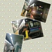 電車の旅。