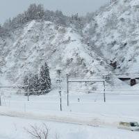 大雪の中休み