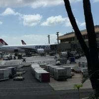 ハワイ旅行記16. 5~6日目 サクララウンジ・機内・そして到着