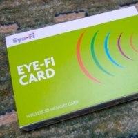 Eye-Fiを使って、デジカメを無線LAN仕様にする